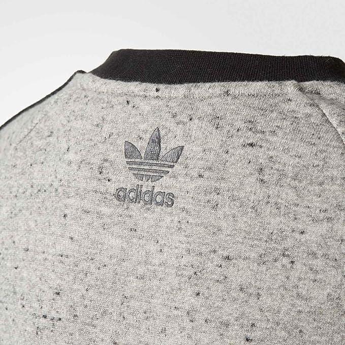 adidas Sweatshirt – J Trf Ft grauschwarz Größe: 123 128 cm