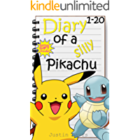 Mega Pokemon Bundle!: Includes Over 40 Pokemon Stories for Children Collection (Diary of a Silly Pikachu Collection Book 1)