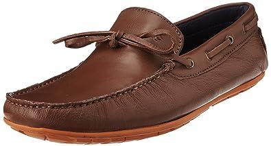 5ef0b61b2c4 Arrow Men s Leather Loafers (8904210230450 DENIAL 9 UK Brown)-9 UK India  (43 EU