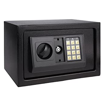 Homdox Caja Fuerte de Seguridad Camuflada Caja Fuerte Electrónica: Amazon.es: Oficina y papelería