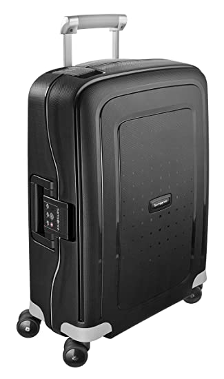 samsonite s\u0027cure spinner 55 20 koffer, 55cm, 34 l, black samsonite  samsonite s\u0027cure spinner 55 20 koffer, 55cm, 34 l, black