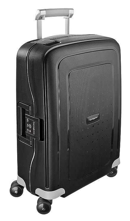 4d5c9778fc6 Samsonite S'Cure - Spinner 55 - 2,90 Kg Hand Luggage, 55 cm, 34 L, Black:  Amazon.co.uk: Luggage