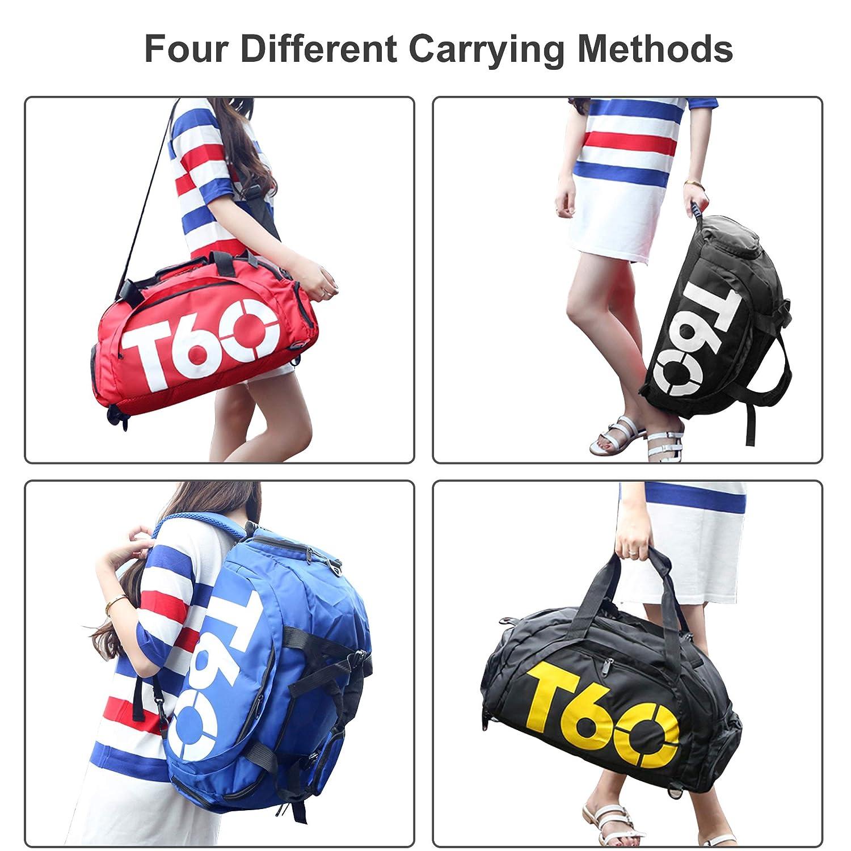 arteesol Sac de Sport Sac de Voyage Duffle Bag Multifonctionnel /Épaule Sac /À Dos Formation /Étanche Sac /À Main Femme M/âle Grande Capacit/é 30L Sac /À Bagages L/éger Daypack
