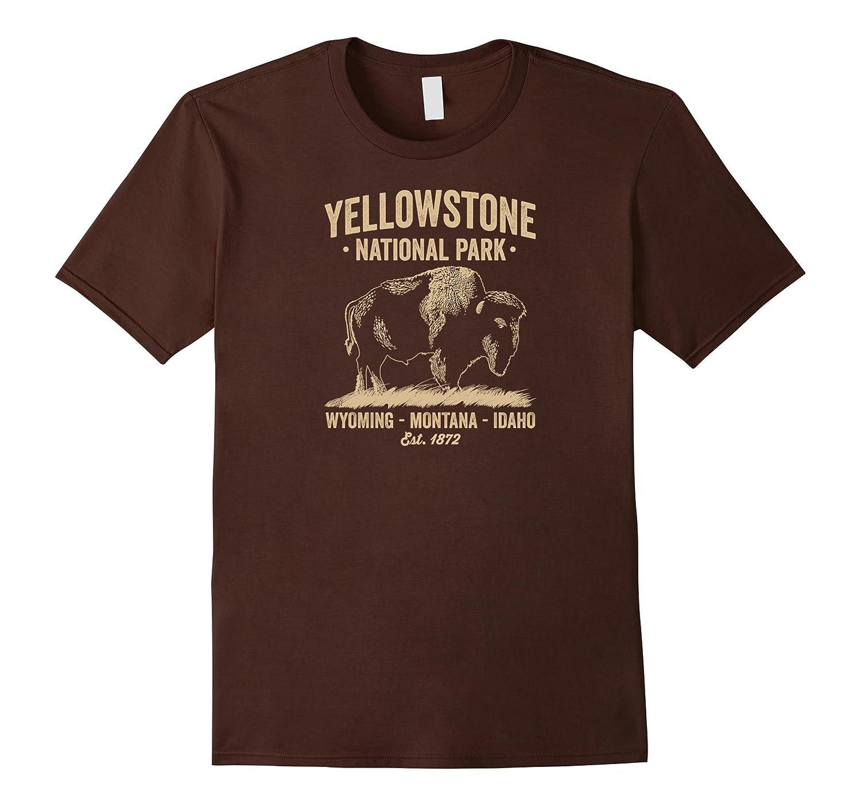 Yellowstone National Park Buffalo T Shirt for Men Women Kids-TH