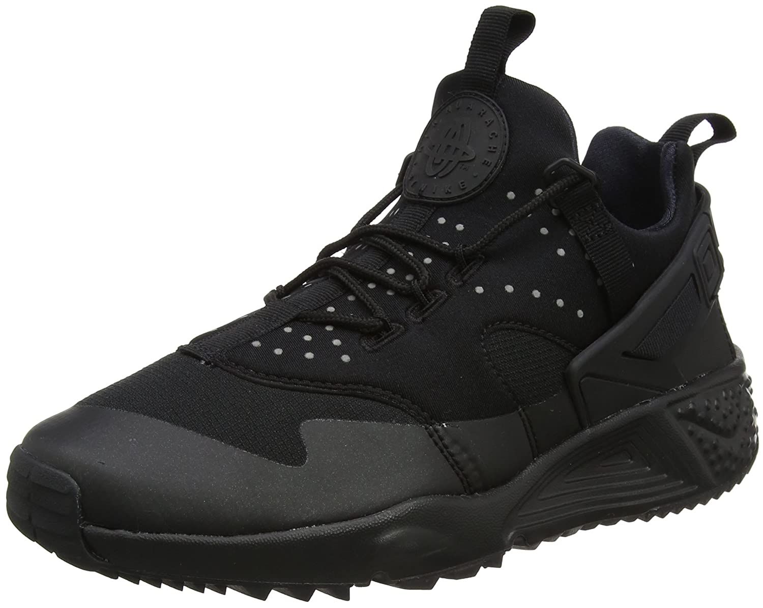 buy popular 70c2d 28730 Amazon.com | NIKE 806807-004 Men AIR Huarache Utility Black | Fashion  Sneakers