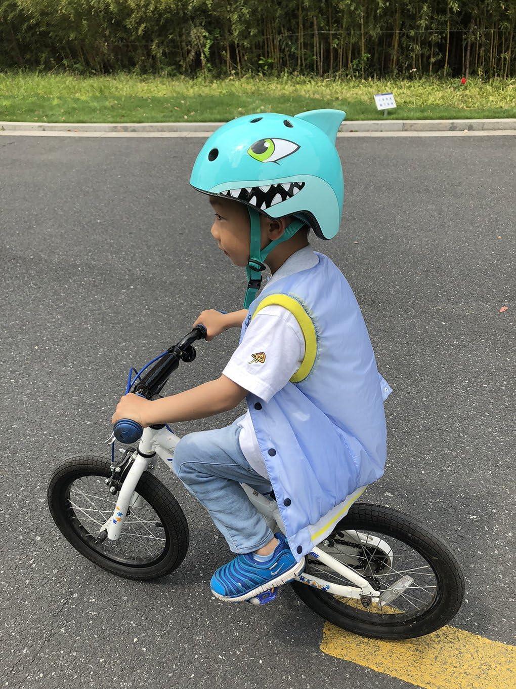 Celtics 3-8 Anni Bambini Caschi Della Bici Ad Alta Densit/à PC Cartoon Pattinaggio Bambino Ciclismo Equitazione Bambini Caschi Bicicletta Sci Casco Sicurezza