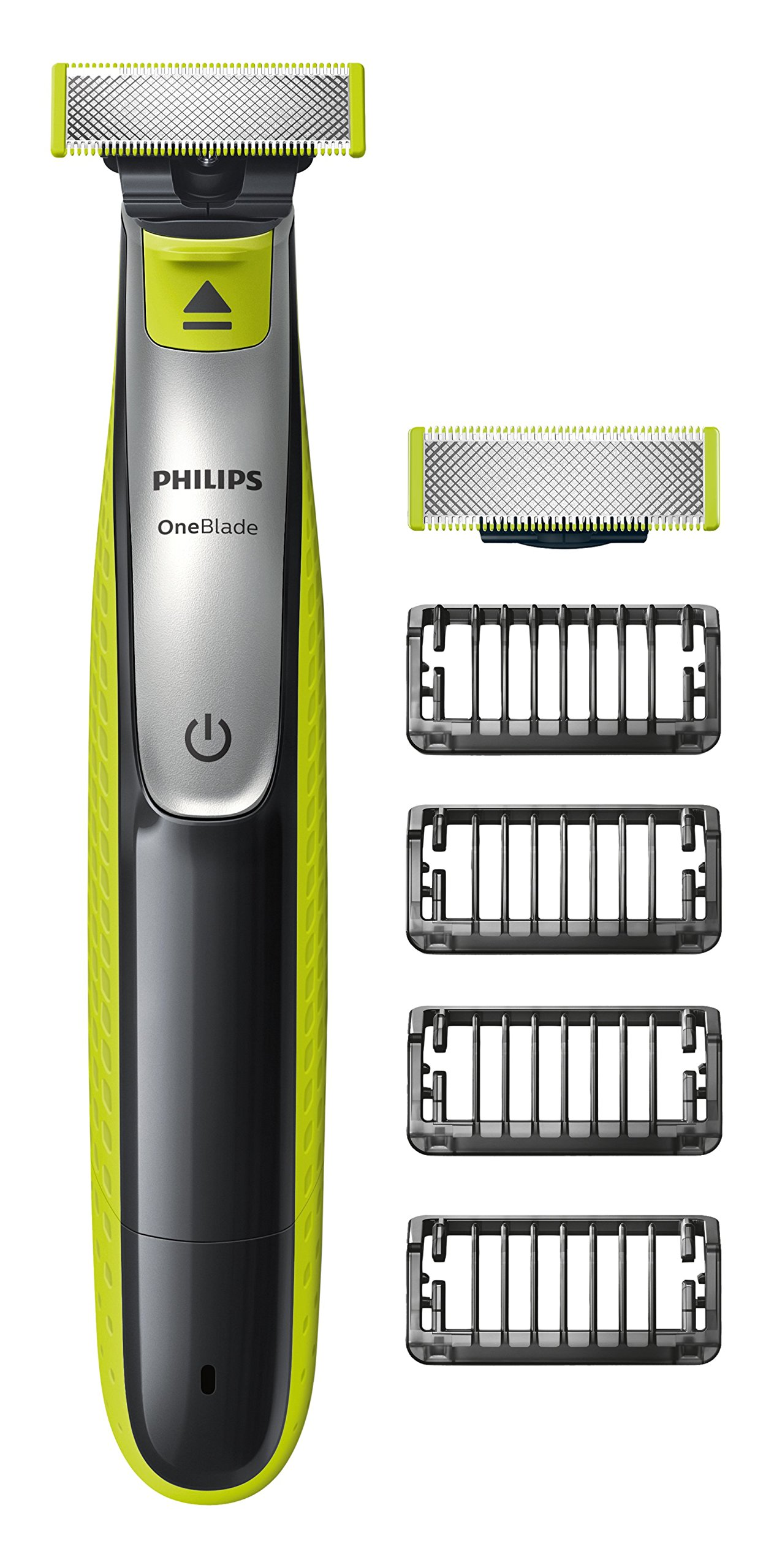 Philips OneBlade Hybrid Trimmer & Shaver with 4 x Lengths & 1 Extra Blade Amazon Exclusive (UK 2-Pin Bathroom Plug) - QP2530/30 product image