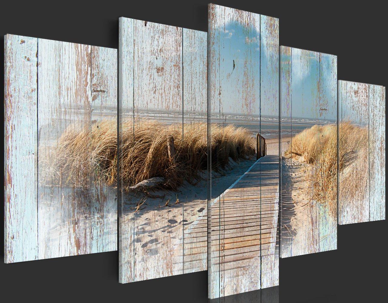 Murando   Bilder 100x50 Cm   Vlies Leinwandbild   5 Teilig   Kunstdruck    Modern   Wandbilder XXL   Wanddekoration   Design   Wand Bild ...