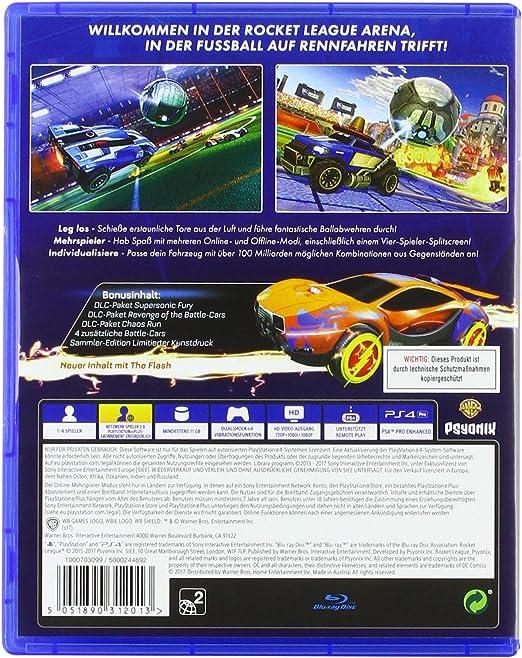 Rocket League - Collectors Edition - PlayStation 4 [Importación ...