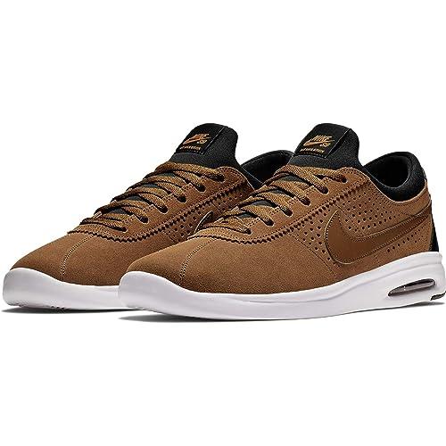 Nike SB Air MAX Bruin Vapor, Zapatillas de Deporte para Hombre, (Lt British Tan Black/Monarch 201), 44 EU: Amazon.es: Zapatos y complementos