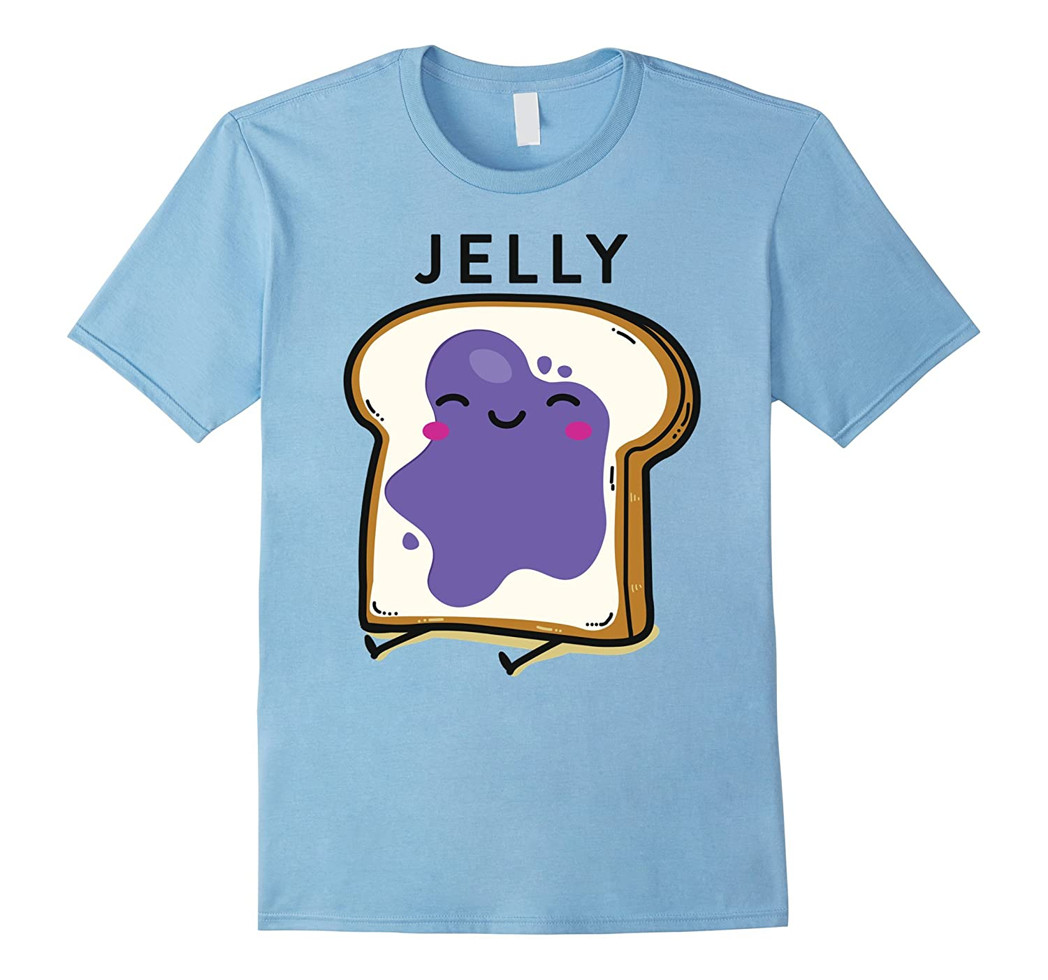 Peanut Butter Jelly 2 Matching BFF Tees Best Friend T Shirts-PL