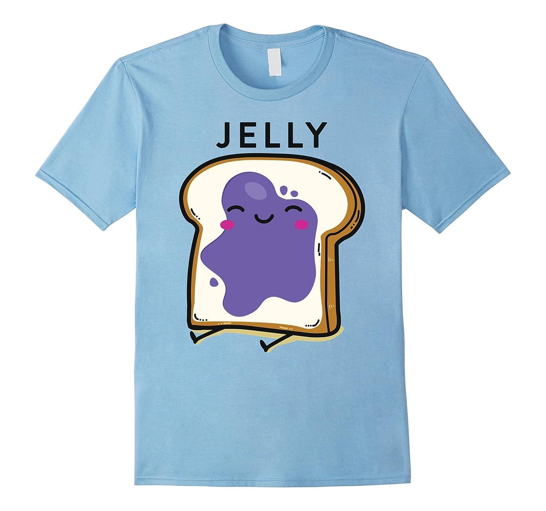 Peanut Butter Jelly 2 Matching BFF Tees Best Friend T Shirts-T-Shirt