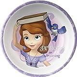 Zak Designs Disney Princess 5-inch Plastic Kids Bowl, Sofia the First