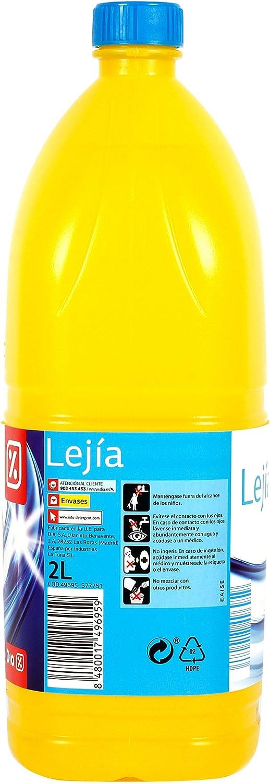 DIA - Lejía Hogar Garrafa Amarilla Botella 2 Lt: Amazon.es: Alimentación y bebidas