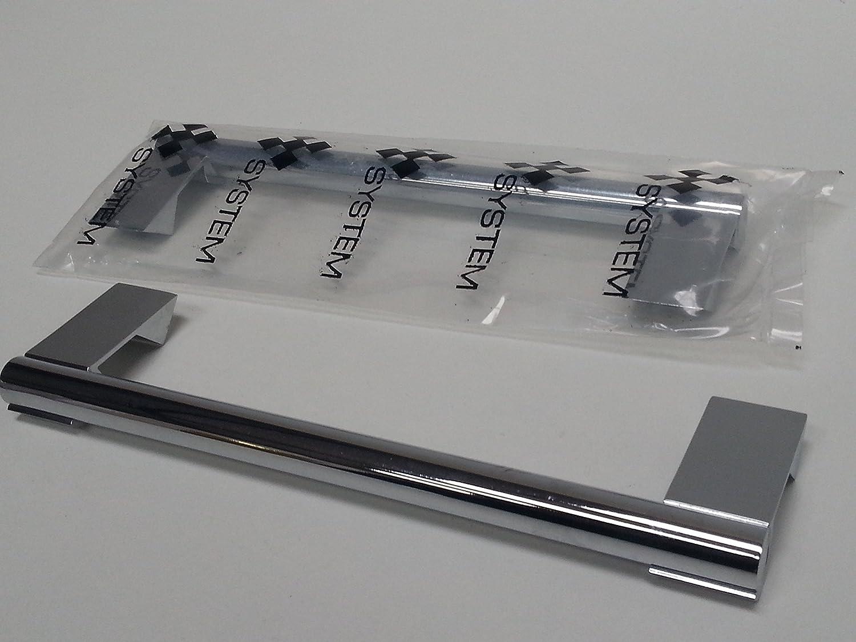 1 x Handgriff für Küchenschublade Kühlschrank Ersatzstiel In Chrom ...