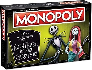 Monopoly Disney Pesadilla Antes de Navidad (2019 Ed.) Juego de ...