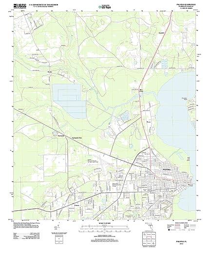 Palatka Florida Map.Amazon Com Usgs Historical Topographic Map 2012 Palatka Fl Fine