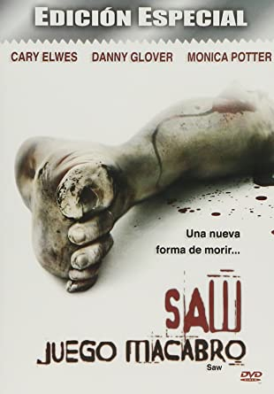Saw Juego Macabro Cary Elwes Danny Glover Leigh Whannell James