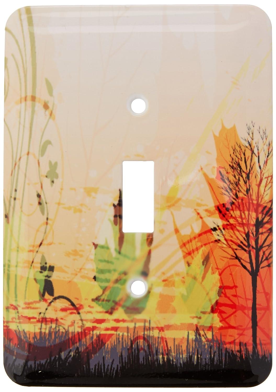 人気特価激安 3drose Scene LSP B00F6DZH6I_ 159053_ 1 A and Pretty Fall Scene with a tree and Fall Leaves Single切り替えスイッチ B00F6DZH6I, ノトガワチョウ:1622a051 --- svecha37.ru