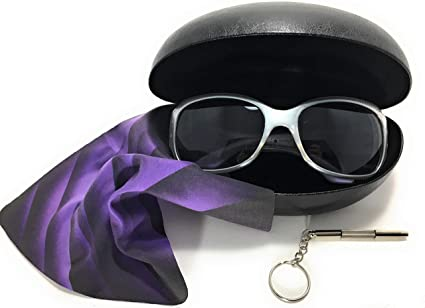 024807eea7e Image Unavailable. Image not available for. Color  Hard Clamshell Sunglass    Eyeglass Cases Great Case for Extra Large Reading and Fashion Sunglasses (