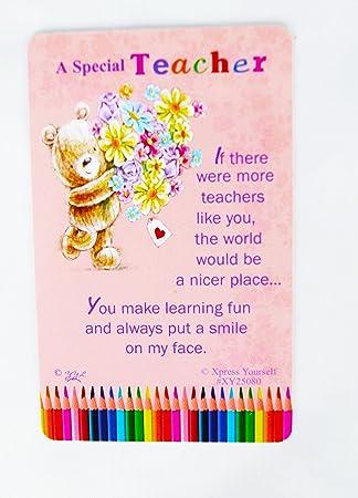 Teachers Thank You Poems 5
