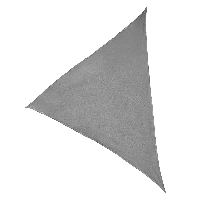 Ultranatura Sonnensegel-Dreieck Ibiza, Sonnensegel dreieckig, Sonnen Sonnen Sonnen Segel Silber & Terrakotta, Terrassen Sonnenschutz, Sonnendach Balkon 5 x 5 x 5 m, Silber 15cdaf