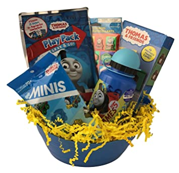 Kids Thomas The Train Easter Basket For Boys Pre Made And Pre Filled