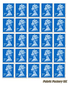 25 x 2nd class standard stamps royal mail post office amazon co uk