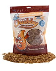 Chubby Mealworms Bulk Dried Mealworms for Wild Birds, Chickens etc. (2Lbs)