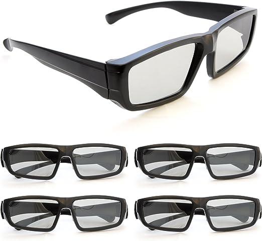 Gafas 3d para TVs 3d pasivo, juegos de PC o cine RealD, Pasivo ...