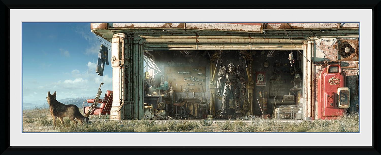 GB Eye Garage Fallout 4 Photographie encadr/ée 75 x 30 cm