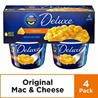 Deals on Kraft Deluxe Original Macaroni and Cheese Dinner Cups 4 ct