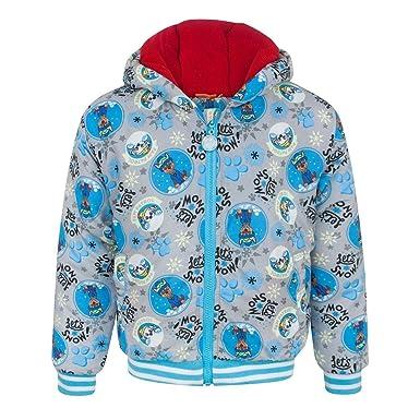 64f7ab1fbba7 Amazon.com  Paw Patrol Lets Snow Boy s Grey Coat  Clothing