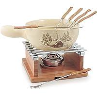 Chalet - Juego de fondue para queso (10 unidades)