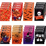 48 Pieces Halloween Notepads Spiral Notebooks Pumpkin Pattern Notebooks for Halloween Party Home School Supplies, 8…