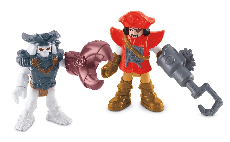 フィッシャープライス イマジネクスト Fisher-Price Imaginext  Pirate and Skeleton   B00SYII5CK