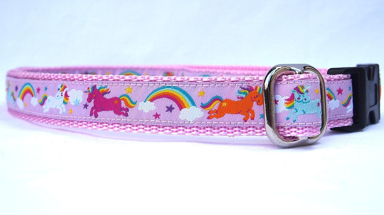 G05 Kindergürtel Gürtel für Kinder und kleine Prinzessinen mit Einhörnern Unicorn belt Wolke und Regenbogen