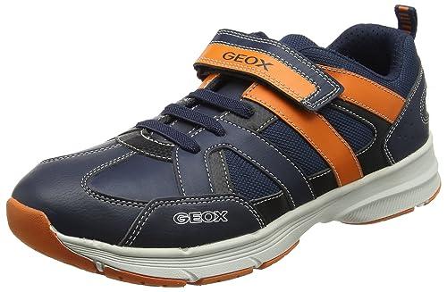 Geox J Top Fly B, Zapatillas para Niños, Azul (Navy), 40 EU