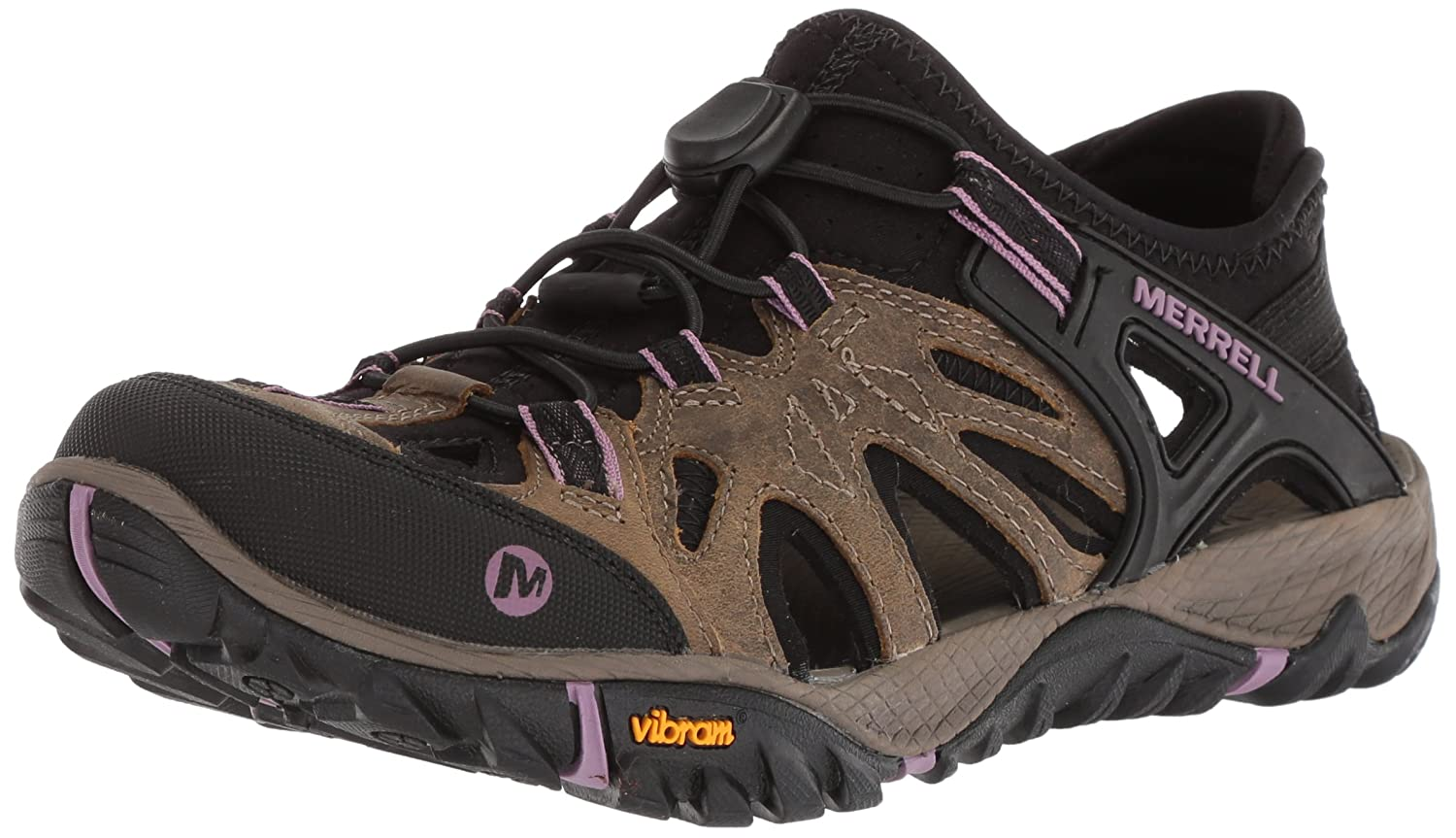 Merrell Women's All Out Blaze Sieve Water Shoe B071Z934QZ 9.5 B(M) US|Stucco