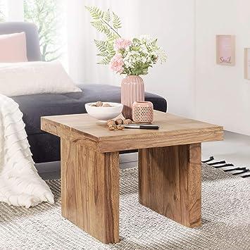 Wohnling Mumbai Beistelltisch, Wohnzimmer-Tisch Design, Landhaus ...
