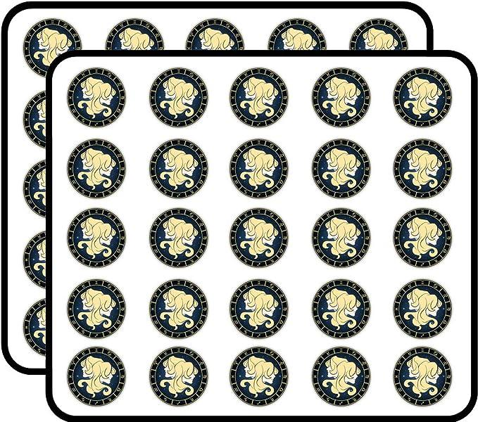 Gemini Zodiac Sign Vinyl Sticker Waterproof Durable Bumper sticker Water bottle sticker bomb Laptop
