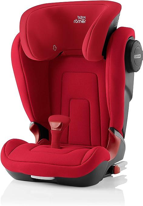 Oferta amazon: Britax Römer Silla de coche 3,5 años - 12 años, 15 - 36 kg, KIDFIX S, ISOFIX, Grupo 2/3, Fire Red