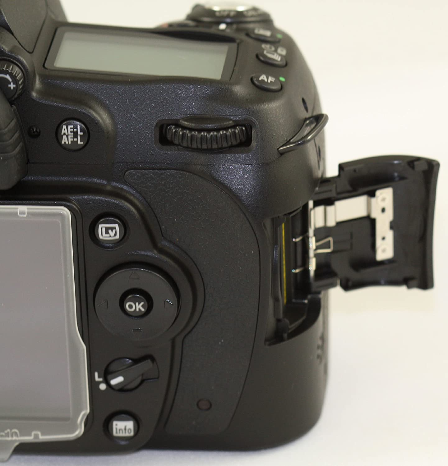 A&r Replacement SD Memory Card Door Cover for D90 Digital Camera