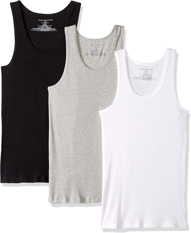 Bamboo Rayon Men Sleeveless Vests Crewneck Slimming Underwear Shirt 3 Pack DAVID ARCHY Mens Vests Underwear Undershirt