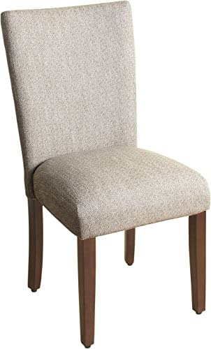 HomePop Parsons Classic Upholstered Accent Dining Chair