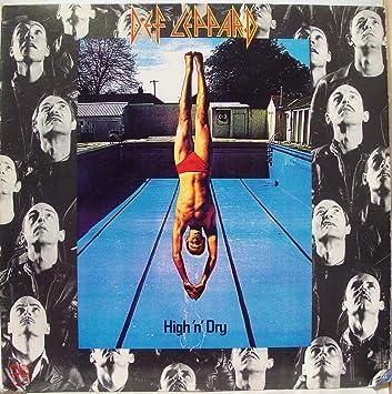 Amazon.com: DEF LEPPARD HIGH N DRY vinyl record: Music