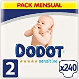 Dodot Sensitive Windeln Talla 2 (240 Unidad)