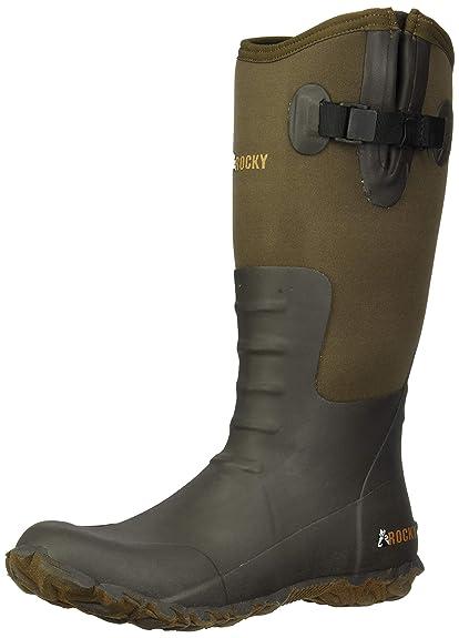 cf8182210b1 Rocky Women's 16'' Core Chore Rubber Outdoor Boots
