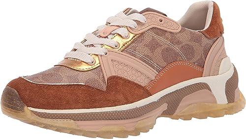 COACH G3015 C143 Runner Sneakers TAN