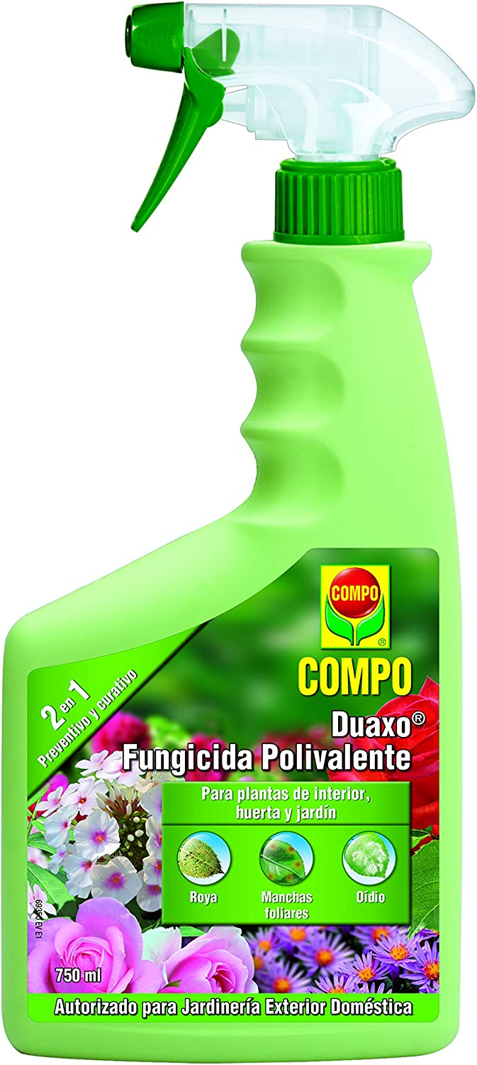 Compo Duaxo Fungicida Polivalente Pistola 750ml 750 Ml Amazon Co Uk Garden Outdoors